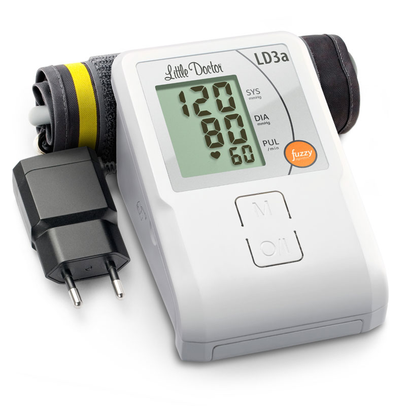 Tensiometru electronic de brat Little Doctor LD 3A, adaptor inclus, afisaj LCD, memorare 90 de... imagine