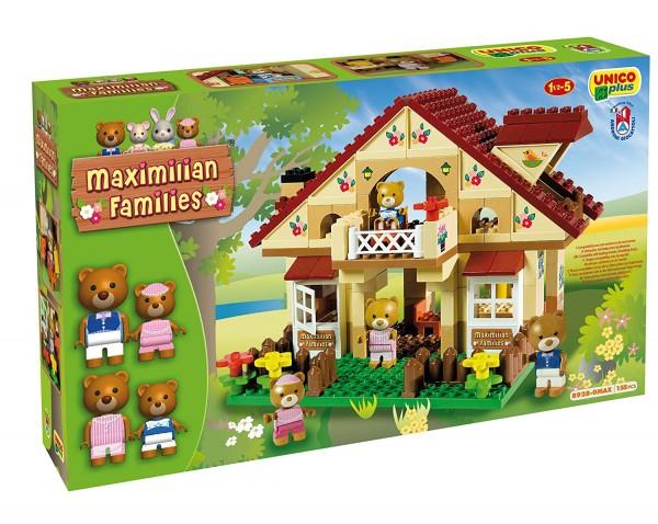 Set cabina cu doua etaje Unico Plus Maximilian Families