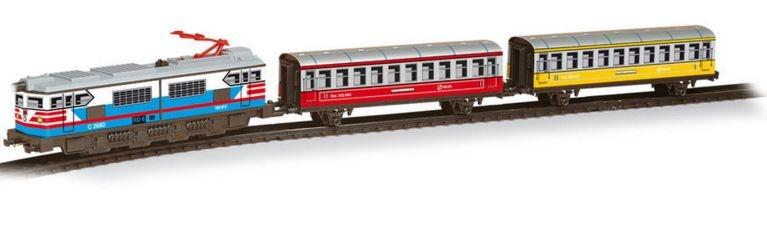 Trenulet Electric Colorat Pequetren Bmyk Pq202 Bekidro