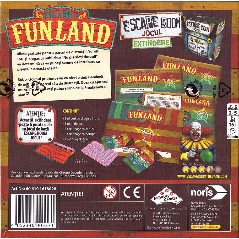 Extindere joc Noris Escape Room Funland
