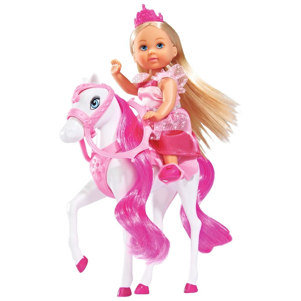 Papusa Simba Evi Love Royal Horse 12 cm