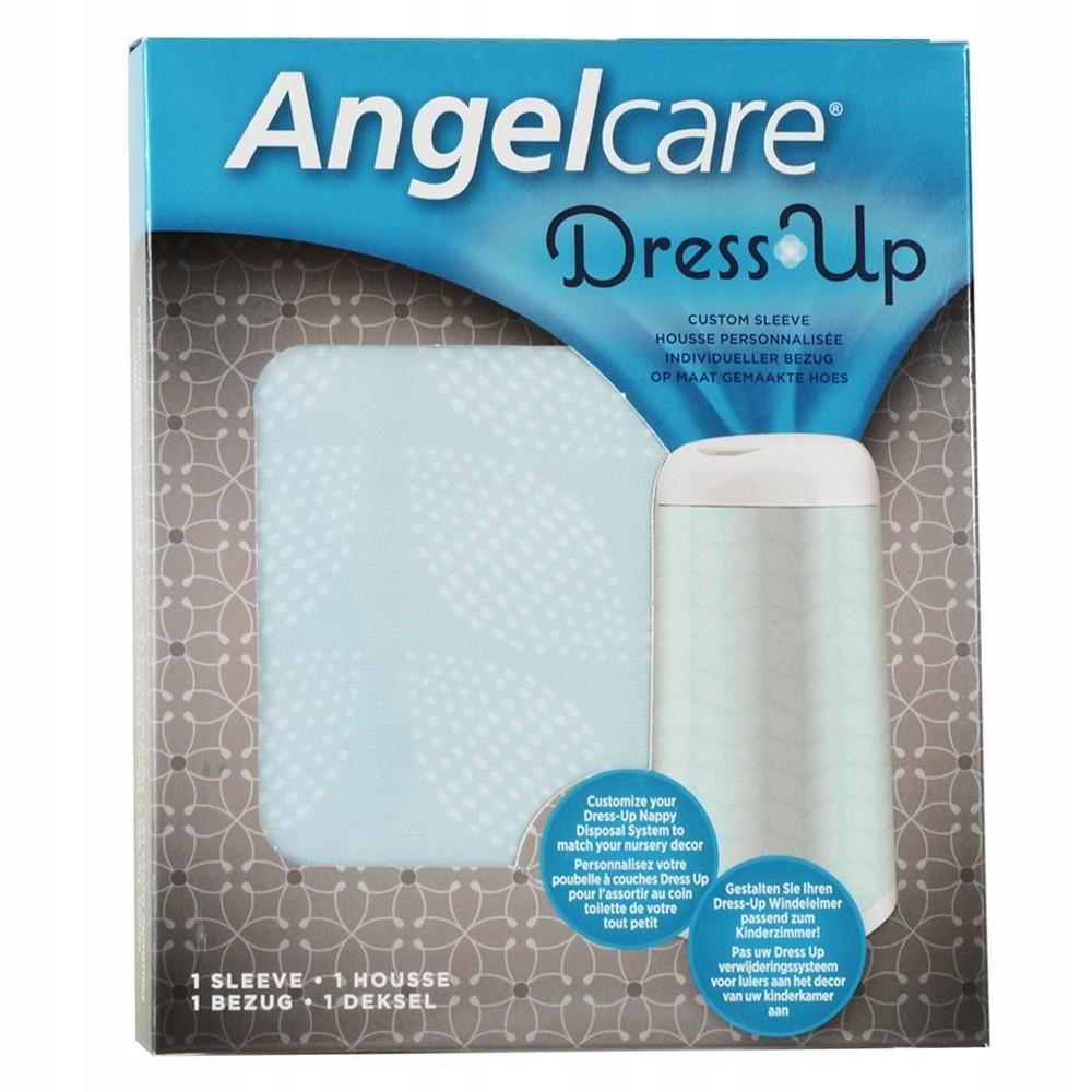 Angelcare husa pentru cosul Dress UP - turquoise frunze