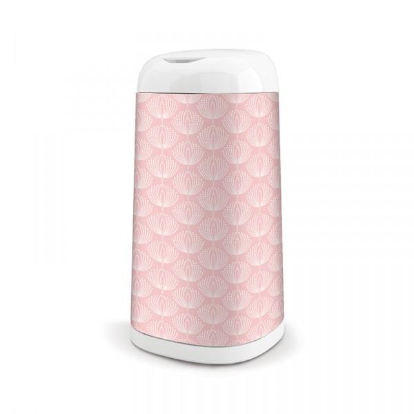 Angelcare husa pentru cosul Dress UP - roz floricele imagine