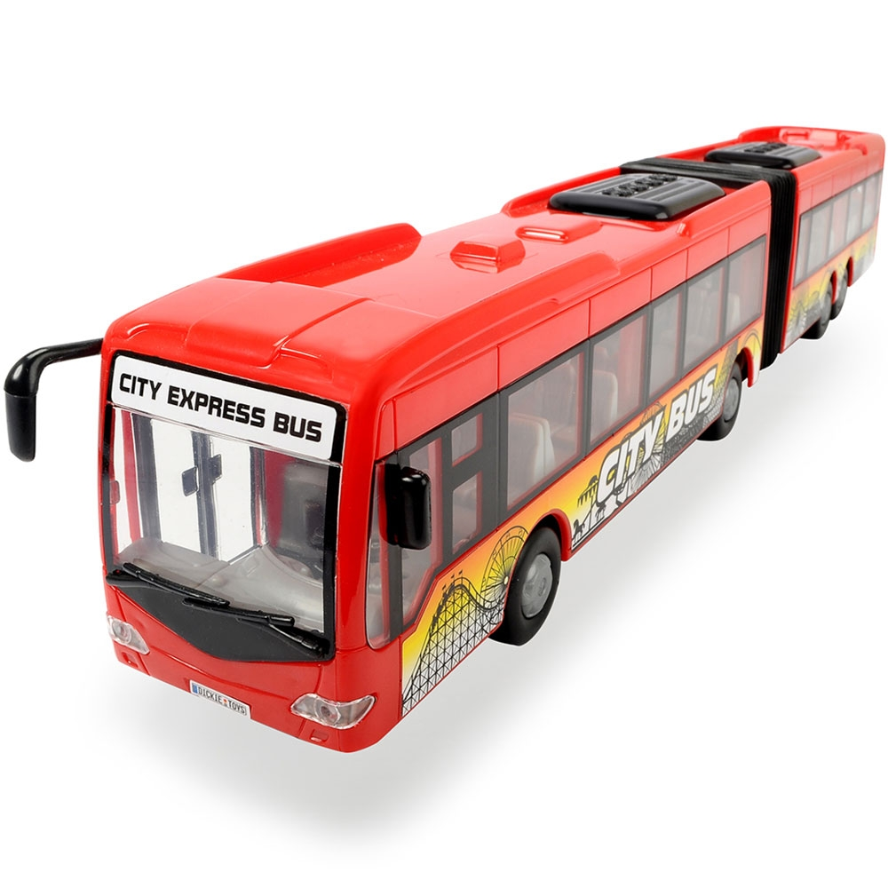 Autobus Dickie Toys City Express Bus rosu