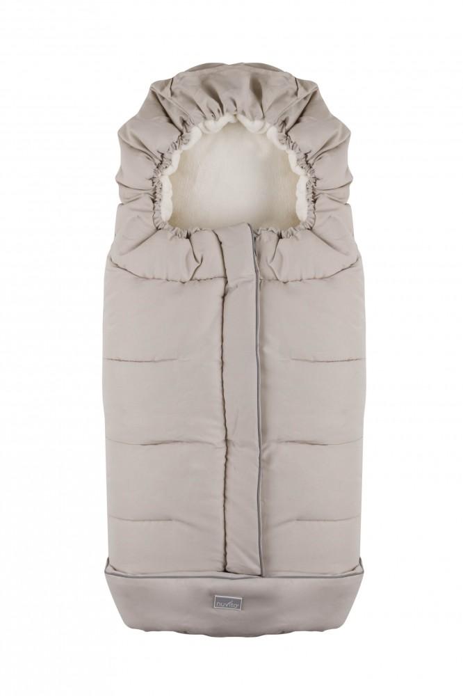 Nuvita City sac de iarna 100 cm - Milky / Beige - 9545 imagine