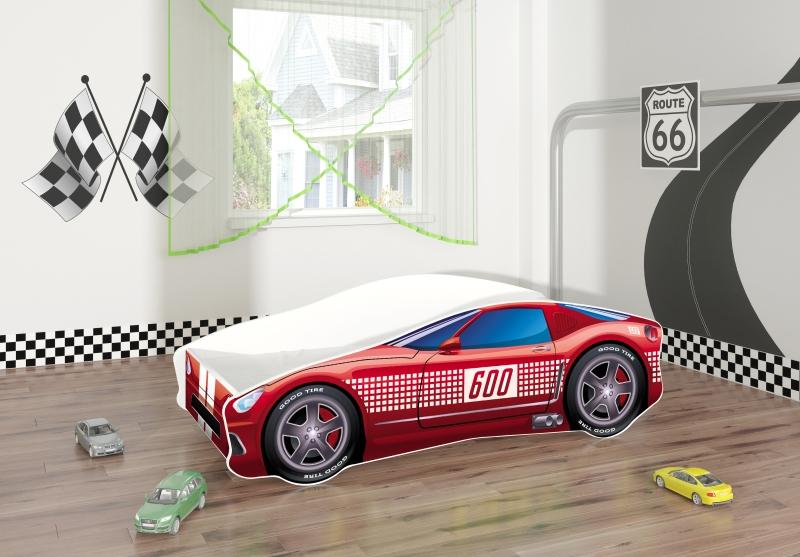 Pat Tineret MyKids Race Car 01 Red-160x80 imagine