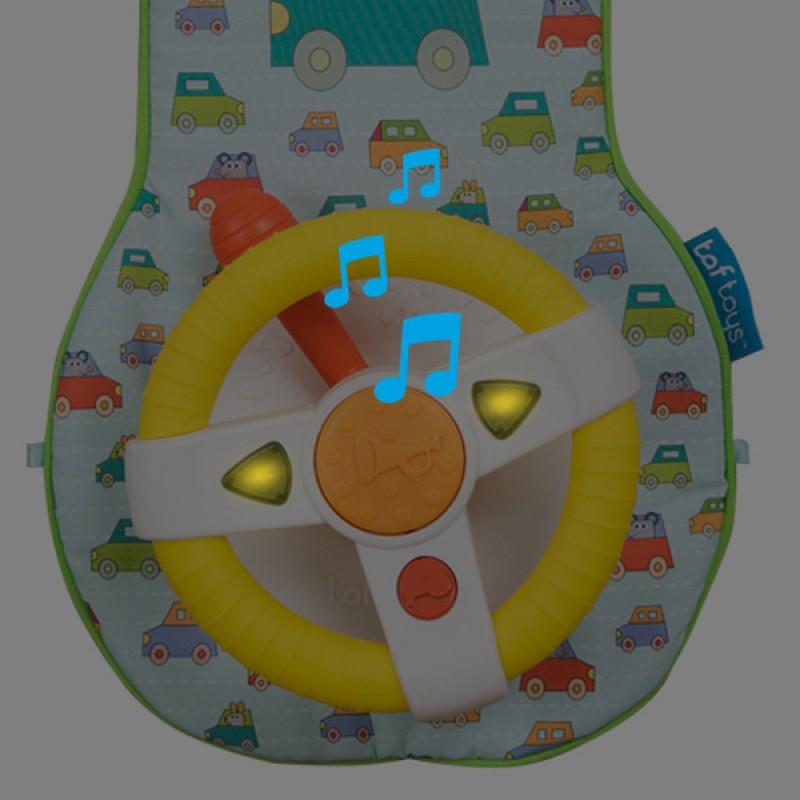 Jucarie Muzicala Auto - Volanul Muzical Taf Toys