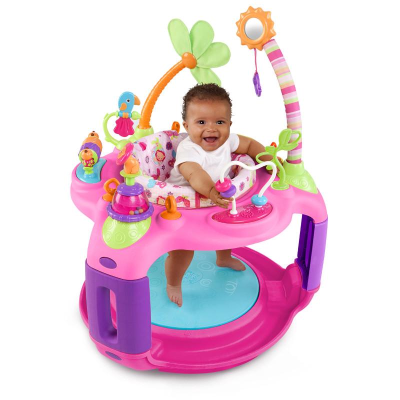 Bright Starts – 60330 - Centru De Activitati Sweet Safari Bounce-a-round