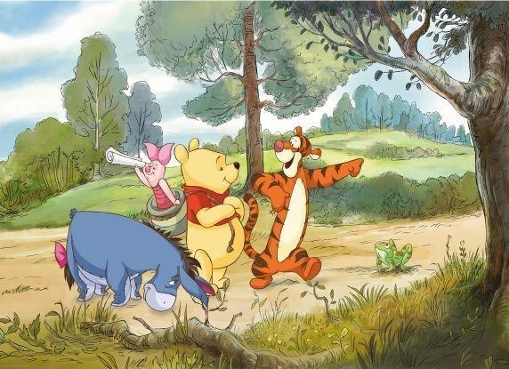 "Fototapet ""expeditia Lui Winnie"" - Colectia Disney"