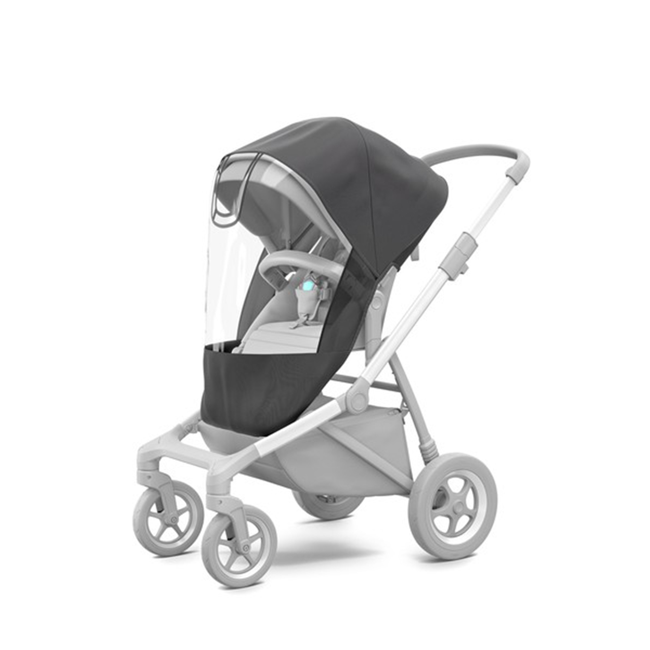 Accesoriu Thule Sleek Sibling Seat - Scaun suplimentar pentru Thule Sleek Midnight Black