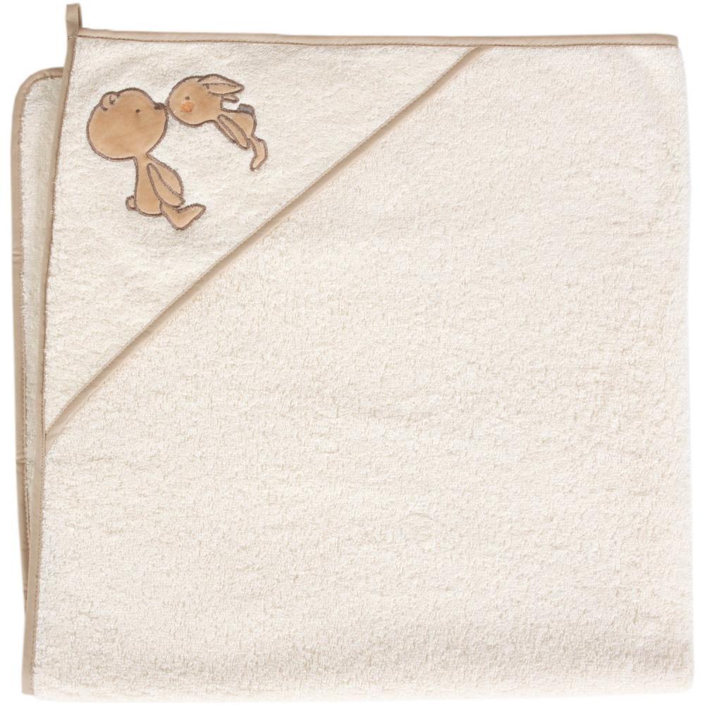 Prosop cu capison 100X100 cm Ceba Baby Ursulet Crem