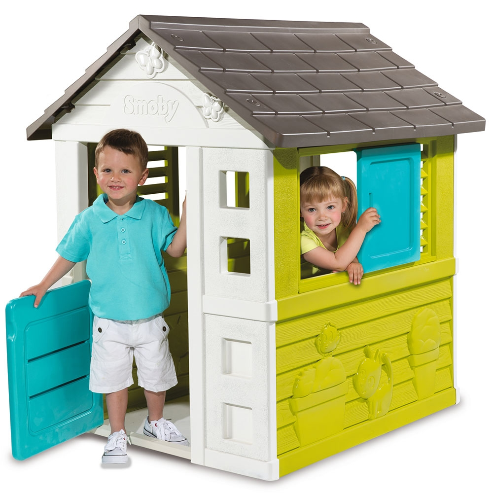 Casuta pentru copii Smoby Pretty Playhouse imagine