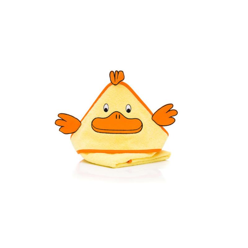 Prosop brodat Duck, yellow , 75x75cm. Fillikid