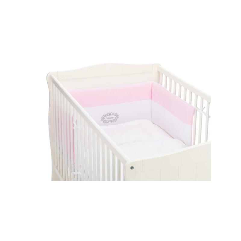 Protectie laterale pentru pat lemn Princess Pink Fillikid imagine