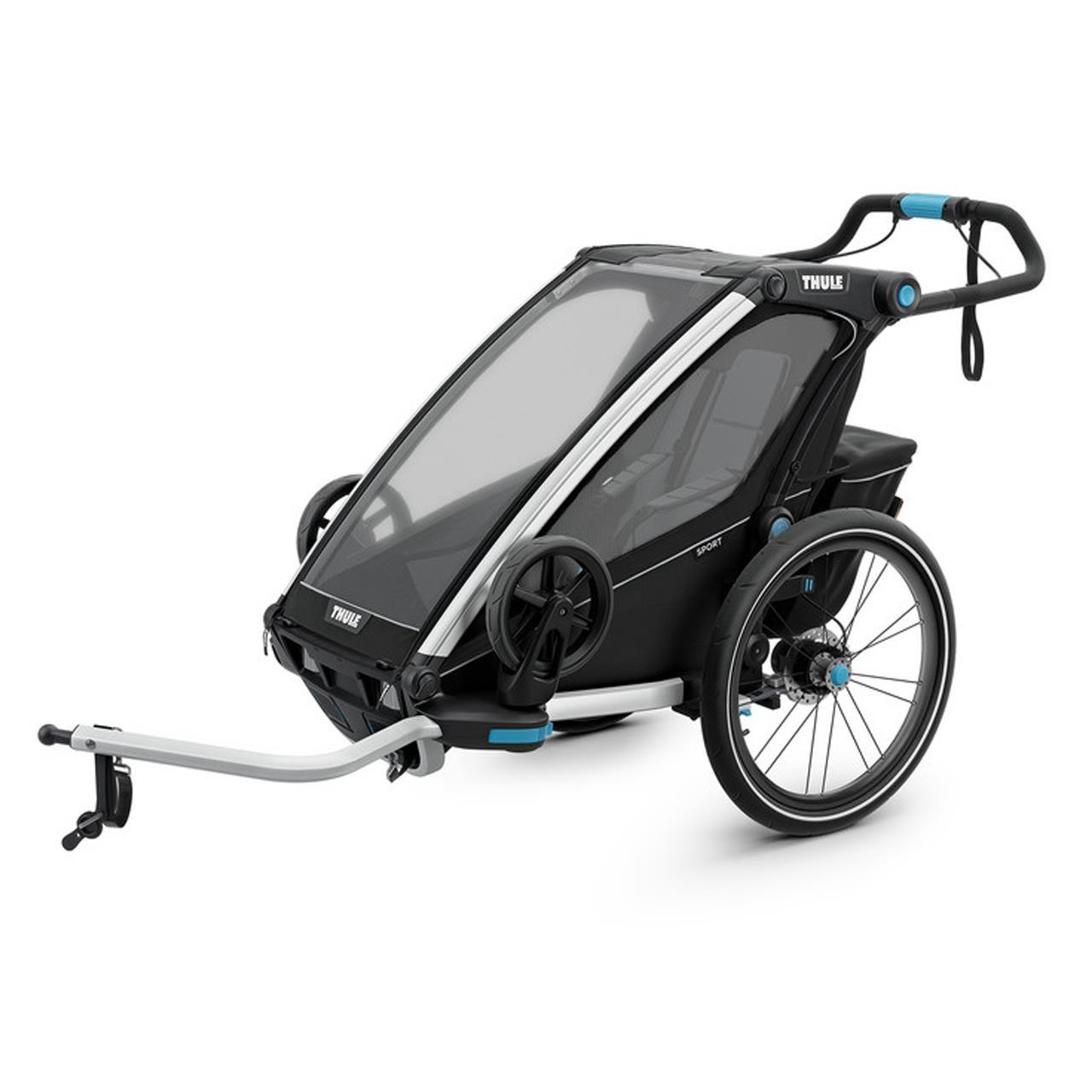 Carucior multisport Thule Chariot Sport 1 Black imagine