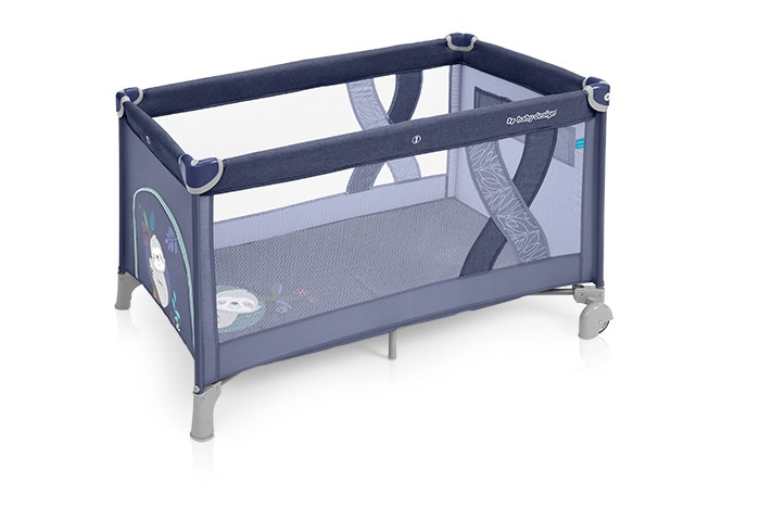 Baby Design Simple patut pliabil - 03 Blue 2019 imagine