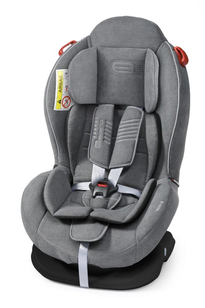 Espiro Delta scaun auto 0-25 kg - 07 Gray&Silver 2019 imagine