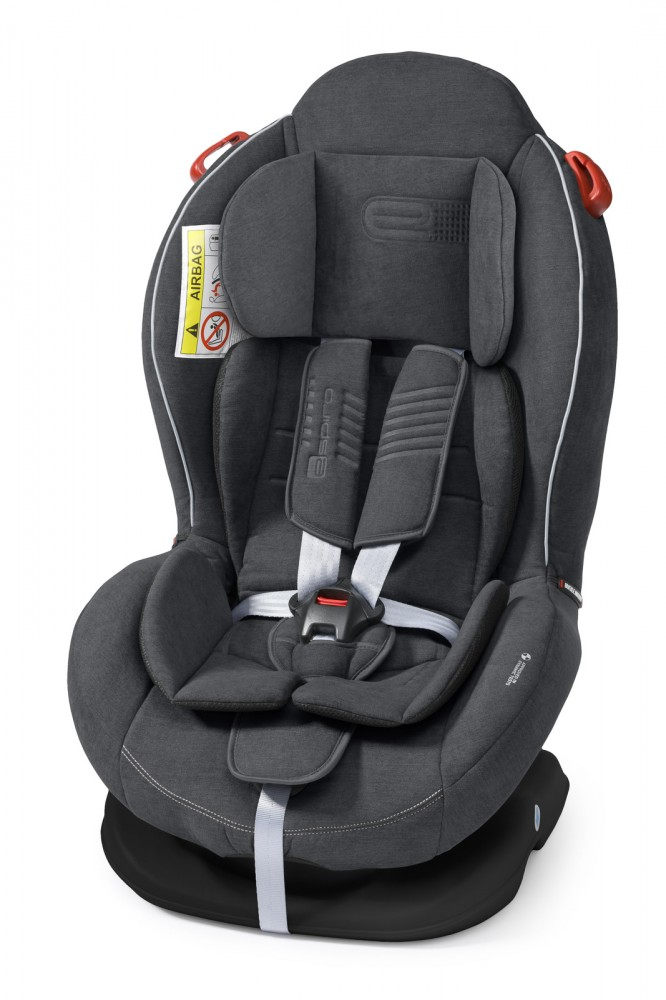 Espiro Delta scaun auto 0-25 kg - 17 Graphite 2019 imagine