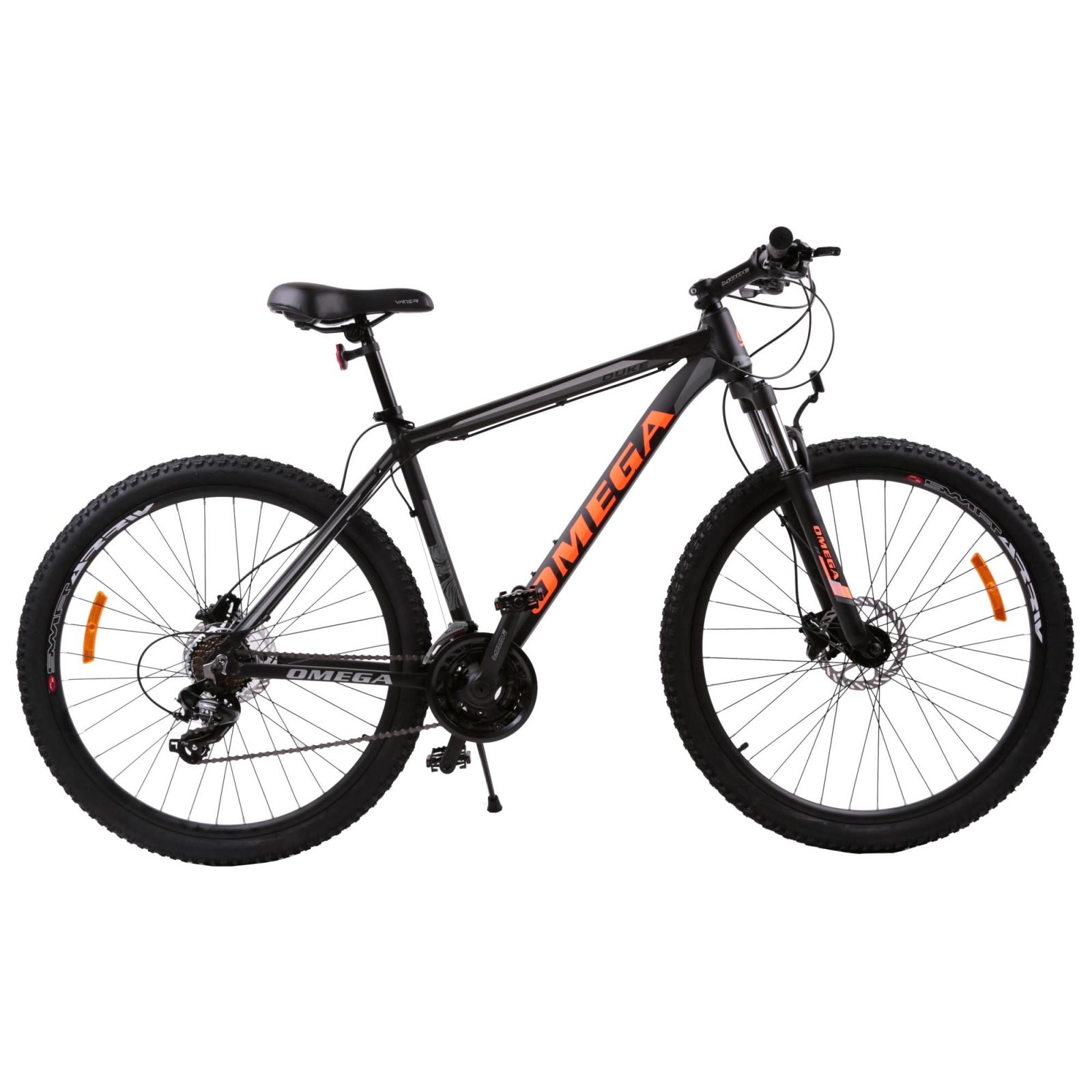 Bicicleta mountainbike Omega Duke 29 cadru 49cm 2019 negru rosu albastru