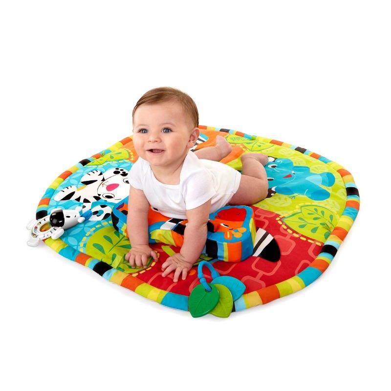 Bright Starts-9167-start Your Senses™ Salteluta Interactiva Spots & Stripes