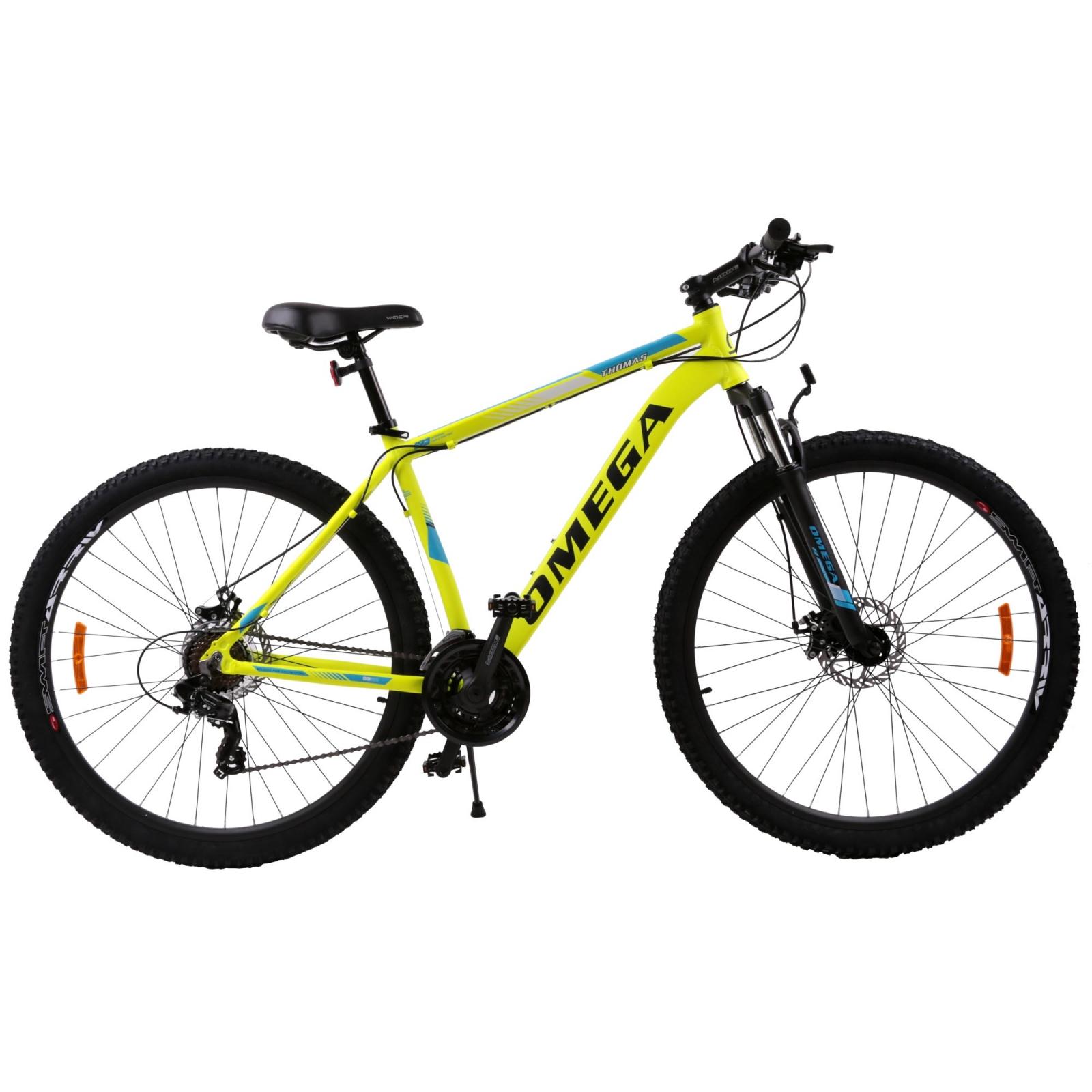 Bicicleta mountainbike Omega Thomas 29 cadru 49cm galben 2019