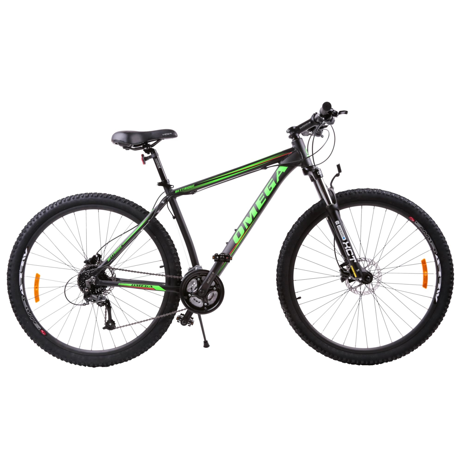 Bicicleta mountainbike Omega Bettridge 29 cadru 49 cm negru verde 2019
