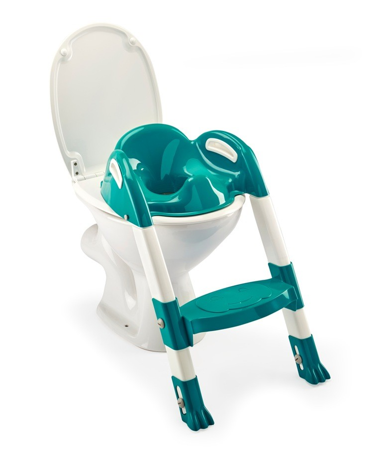 Reductor pentru toaleta cu scarita Kiddyloo EMERAUDE