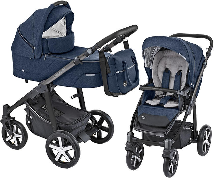 Baby Design Husky carucior multifunctional + Winter Pack - 03 Navy 2019