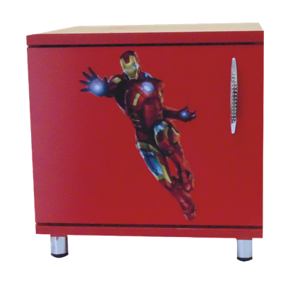 Noptiera cu usa Iron Man