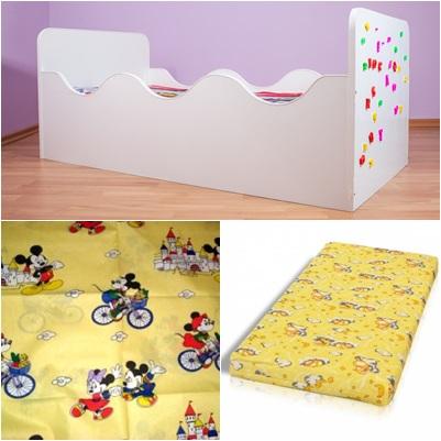 Oferta pat copii puzzle