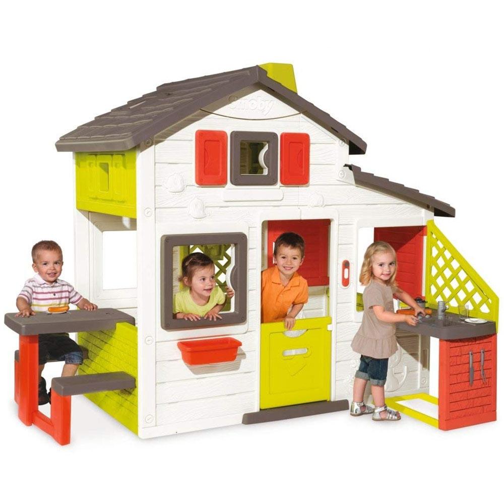Casuta pentru copii Smoby Friends Playhouse cu bucatarie imagine