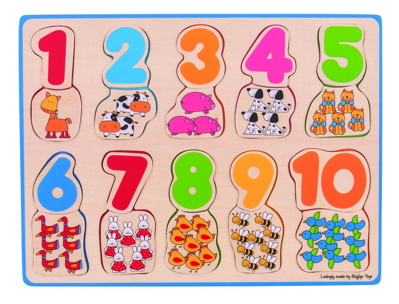 Puzzle - numere si culori