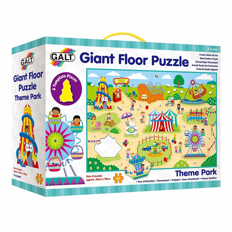 Giant Floor Puzzle: Parcul de distractii (30 piese)