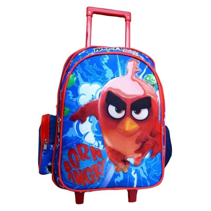 Ghiozdan cu troler Angry Birds 33 cm imagine