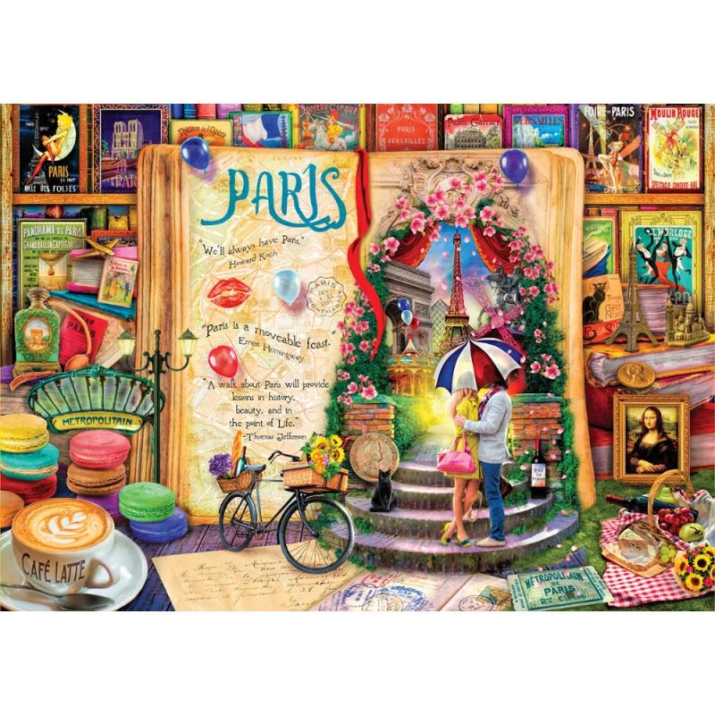 Puzzle 1000 piese - PARIS imagine