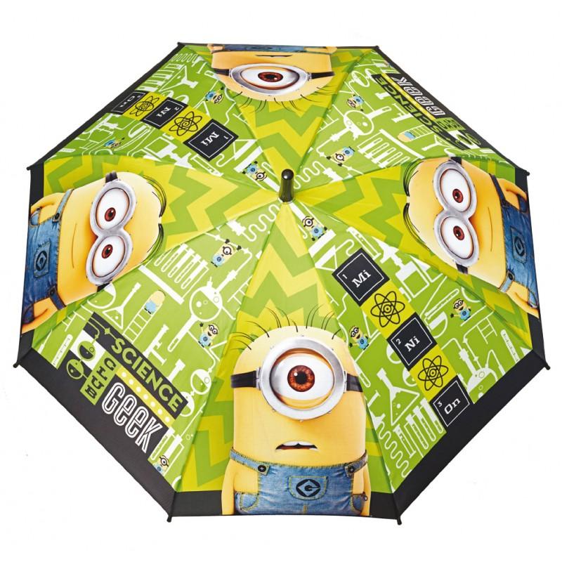 Umbrela automata baston - Minions imagine