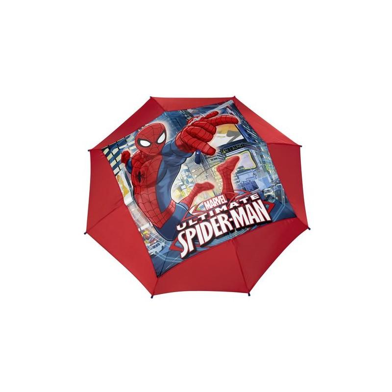 Umbrela automata baston (2 modele) - Spiderman imagine
