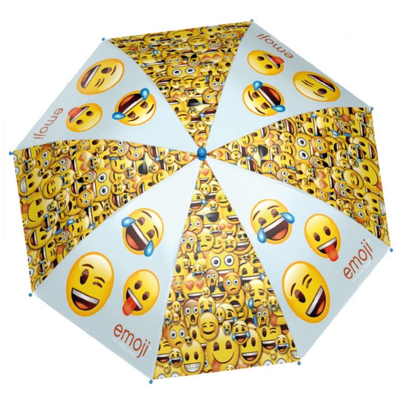 Umbrela automata baston - Smiley imagine