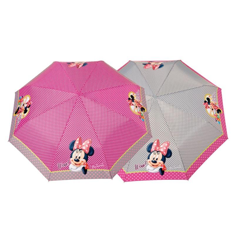 Umbrela manuala pliabila (2 modele) - Minnie imagine