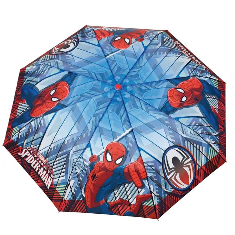 Umbrela manuala pliabila (2 modele) - Spiderman imagine