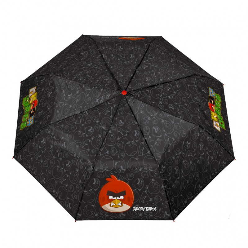 Umbrela manuala pliabila - Angry Birds imagine
