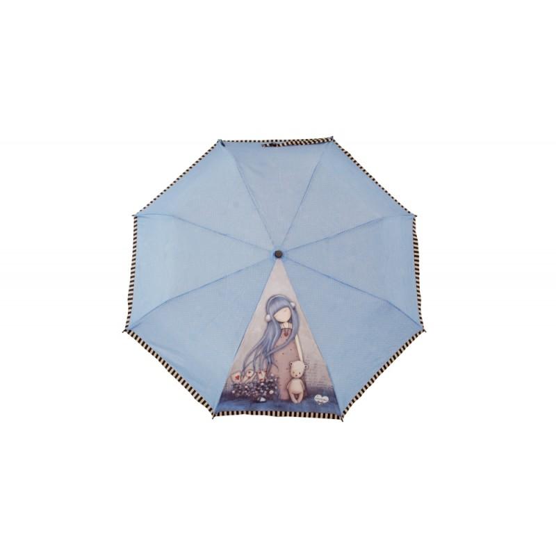 Umbrela manuala pliabila Gorjuss Dear Alice imagine