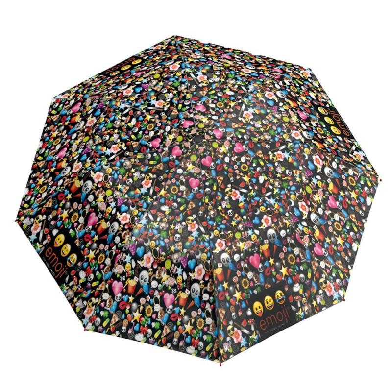 Umbrela manuala pliabila - Smiley imagine