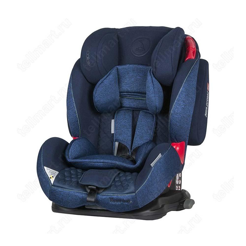 Scaun Auto Vivaro Cu Isofix Blue Coletto