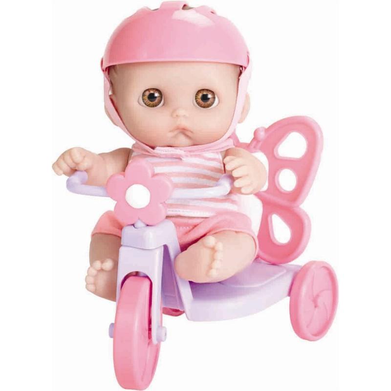 Jucarie Bebelus cu tricicleta-fluturas