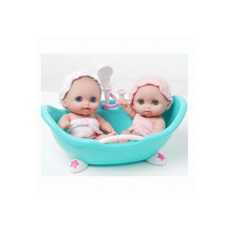 Jucarie bebelusi gemeni in cadita