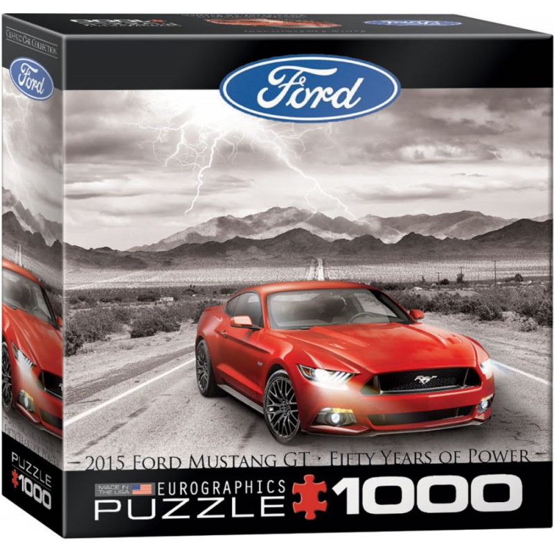 Puzzle 1000 piese Ford Mustang 2015