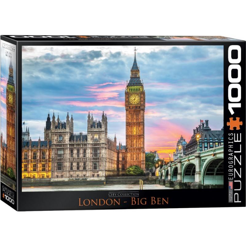 Puzzle 1000 piese London Big Ben imagine