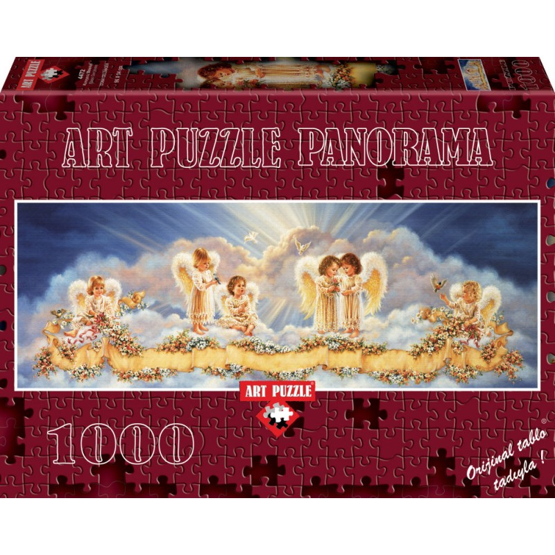 Puzzle 1000 piese Panoramic Bless Our Home - DONA GELSINGER imagine