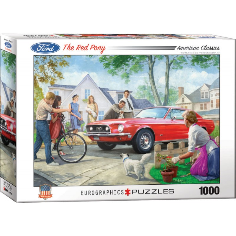 Puzzle 1000 piese The Red Pony-Nestor Taylor imagine